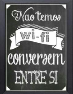 não tem wifi